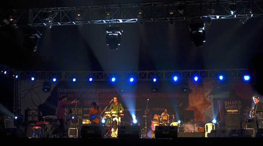 The First International World Music Festival in Dhaka, Bangladesh