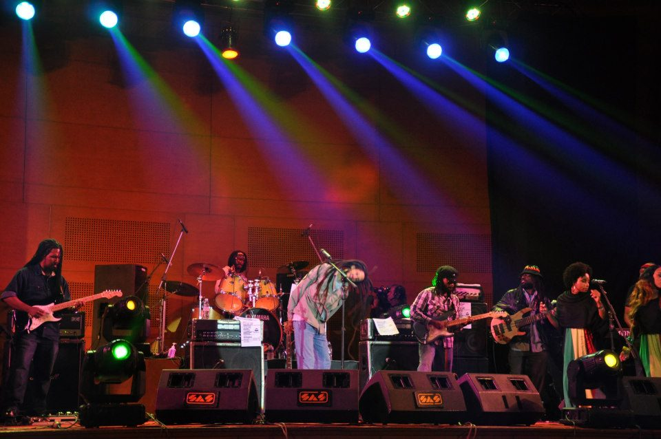 Julian Marley show at Dhaka